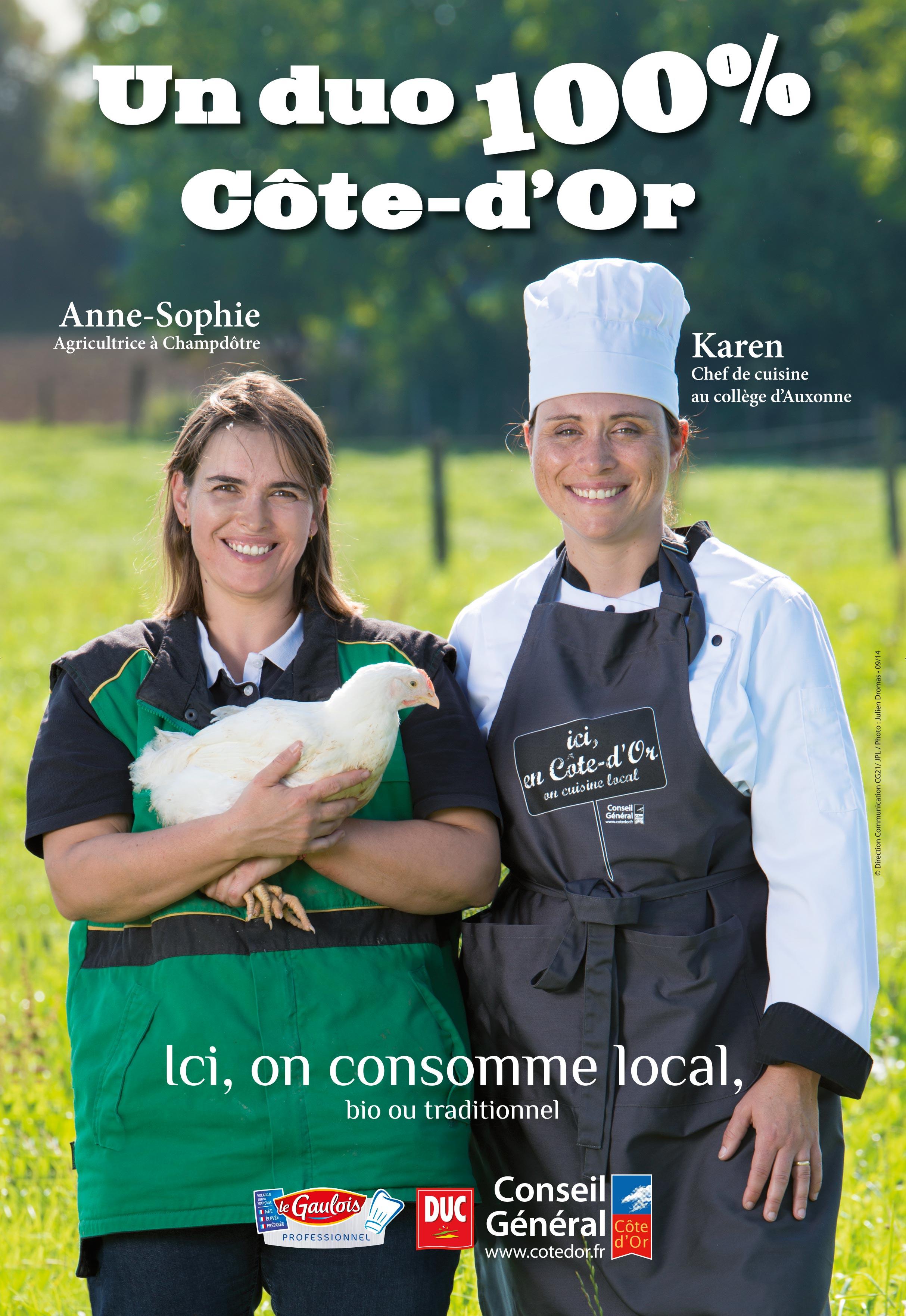 Julien Dromas photographe Dijon publicité corporate filière poulet Conseil Général 21